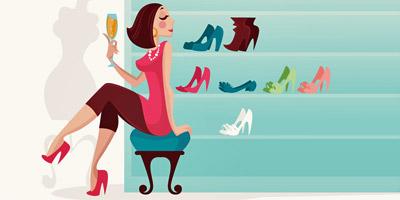 Bist du eine Schuhfetischistin?