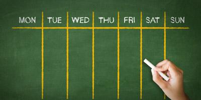 Welcher Wochentag bist du?