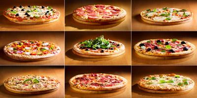 Erkennst du diese Pizza-Sorten?