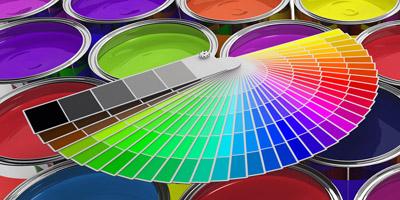 In welcher Farbe solltest du deine Wand streichen?