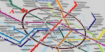 Kannst du diese Streckenpläne den richtigen Städten zuordnen?