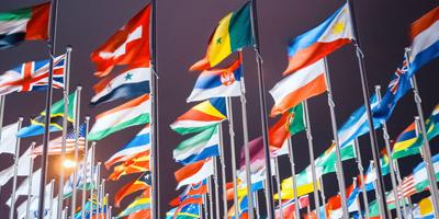 Kannst du diesen 25 Ländern ihre Flaggen zuordnen?