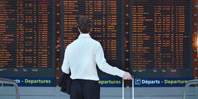 Welche Flughäfen verbergen sich hinter diesen 3-Letter-Codes?