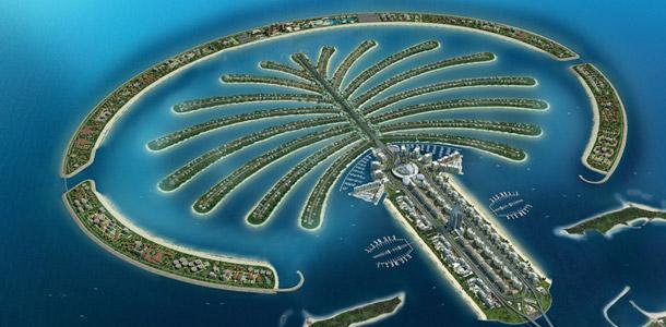 Wo befindet sich diese künstlich erschaffene Halbinsel?
