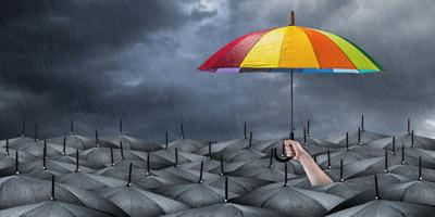 Bist du im Herzen ein Optimist, Pessimist oder Realist?