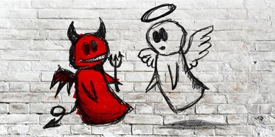 Bist du ein Engel oder ein Teufel?