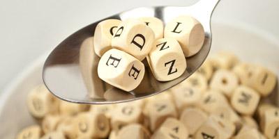 Buchstabensalat Nr. 3 - Welche Wörter suchen wir?