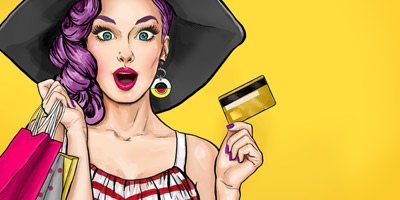 Bist du shoppingsüchtig?