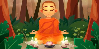 Das tibetische 3 Fragen Quiz