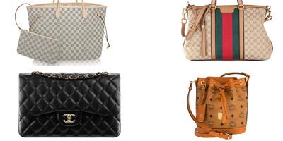 Kannst du diese 10 Handtaschen den richtigen Marken zuordnen?