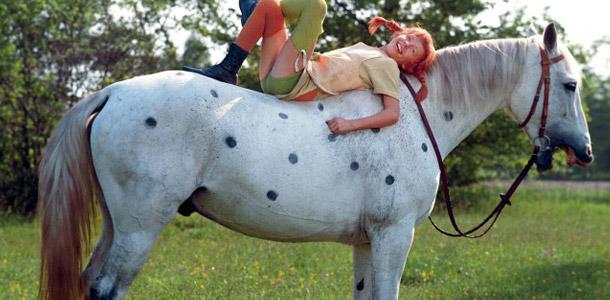 Wie heißt das Pferd von Pippi Langstrumpf?
