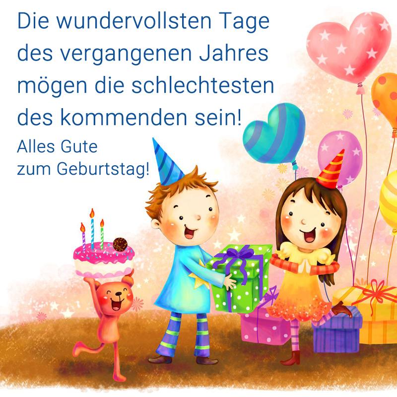 Die wundervollsten Tage des vergangenen Jahres mögen die schlechtesten des kommenden sein! Alles Gute zum Geburtstag!