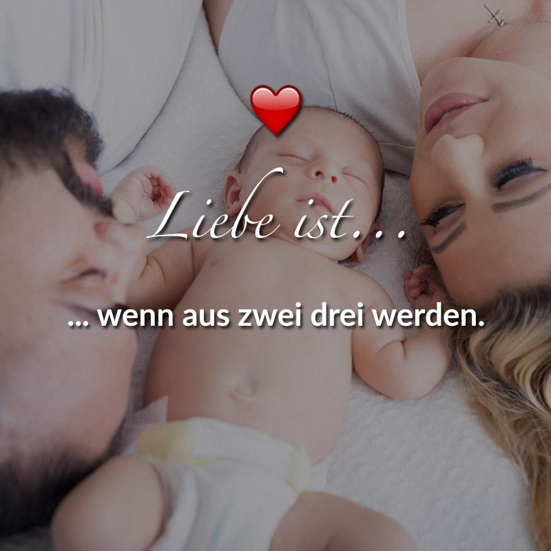 Liebe ist... wenn aus zwei drei werden.