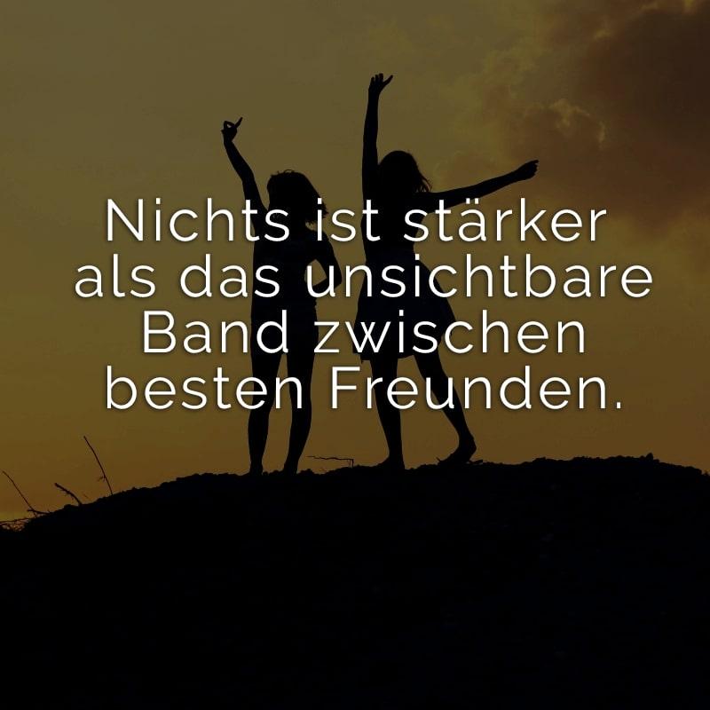 Nichts ist stärker als das unsichtbare Band zwischen besten Freunden.