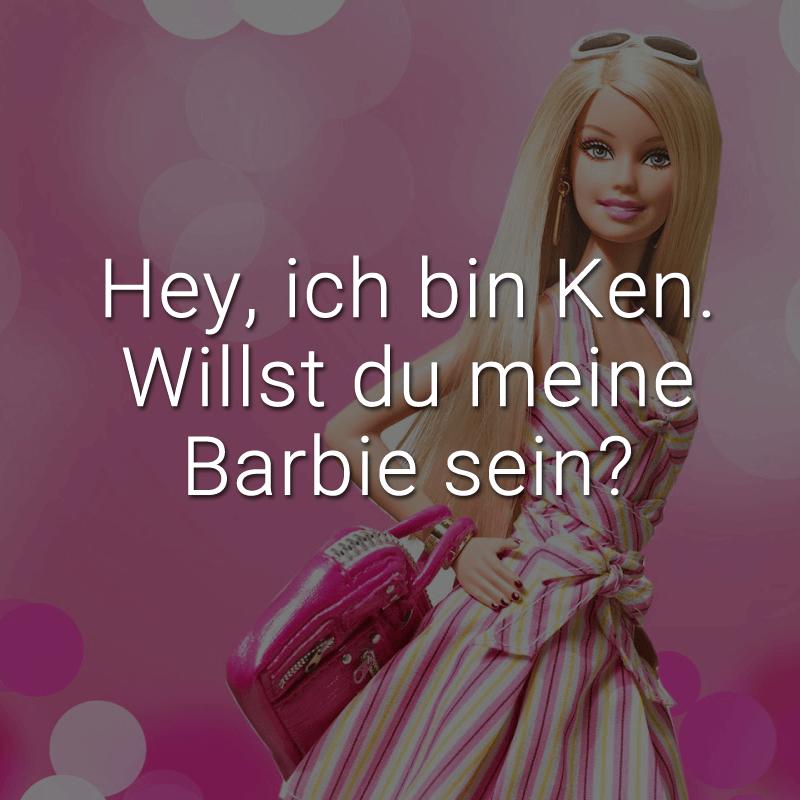 Hey, ich bin Ken. Willst du meine Barbie sein?
