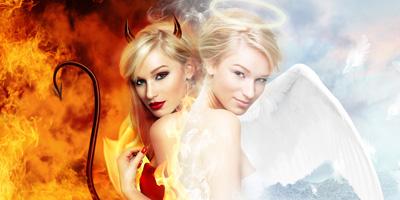 Kommst du in den Himmel oder in die Hölle?