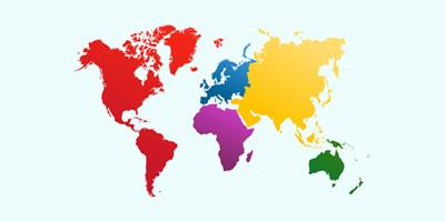 Auf welchem Kontinent solltest du leben?