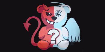 Wer triumphiert öfter bei dir: Engel oder Teufel?