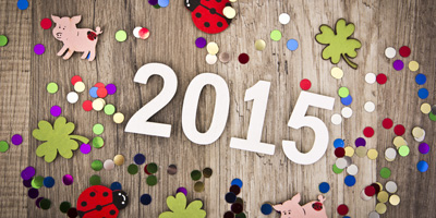 Können wir deinen guten Vorsatz für das Jahr 2015 erraten?