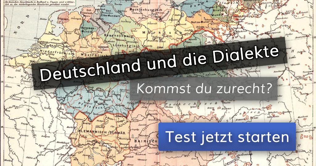 Top ᐅ Deutschland und die Dialekte – kommst du zurecht? #DK_94
