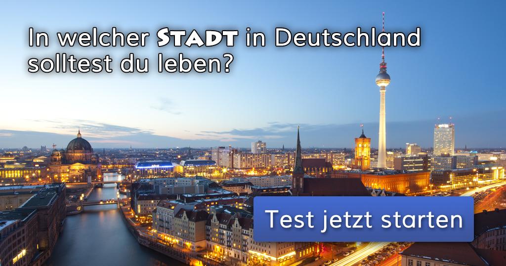 welcher stadt  deutschland sollte ich leben