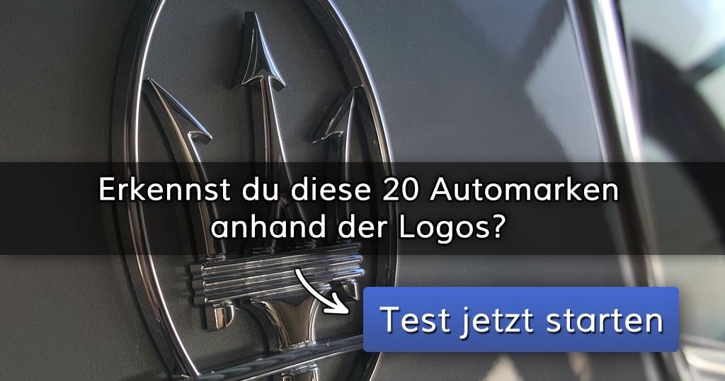 Das Automarken Logos Quiz
