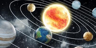 Erkennst du die Planeten unseres Sonnensystems?