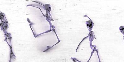 Kannst du diese wichtigen menschlichen Knochen benennen?