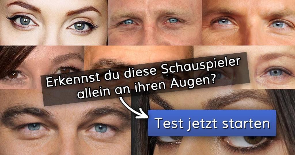 Schauspieler Test