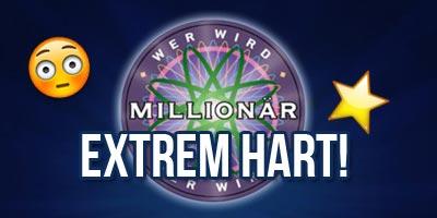 Das härteste 'Wer wird Millionär Quiz' aller Zeiten