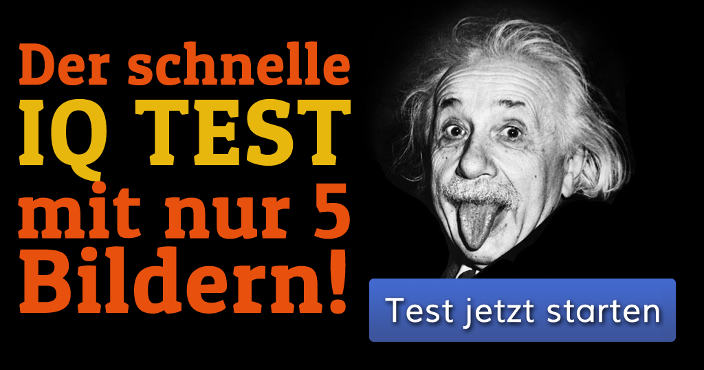 der schnelle iq test mit nur 5 bildern. Black Bedroom Furniture Sets. Home Design Ideas