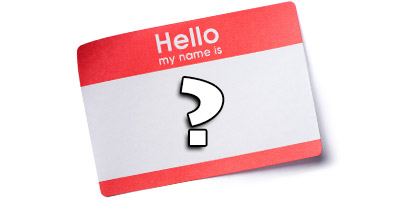 Können wir deinen Namen erraten?