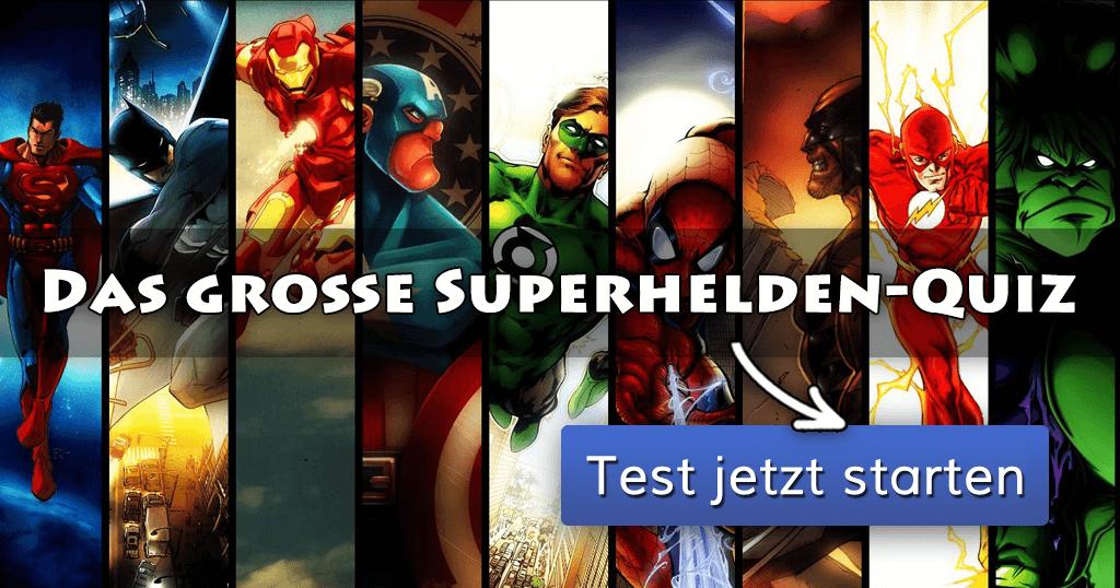Superhelden Quiz