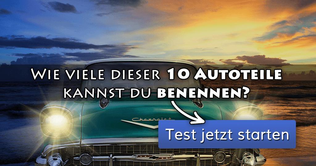 ᐅ Wie viele dieser 10 Autoteile kannst du benennen?