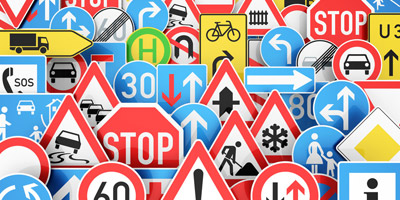 Kennst du diese 15 Verkehrszeichen?
