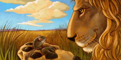 Löwe oder Maus - wie ist es um deinen Mut bestellt?