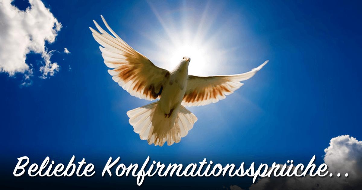 ᐅ Beliebte Konfirmationsspruche