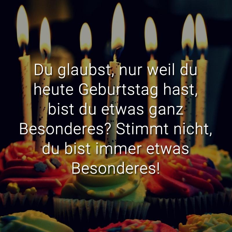 ᐅ Beliebte Geburtstagssprüche - lustig & kreativ