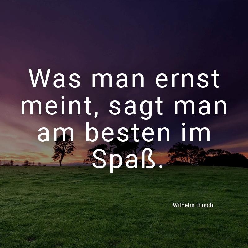 Wilhelm Busch Weihnachtsgedichte.ᐅ Was Man Ernst Meint Sagt Man Am Besten Im Spaß Wilhelm Busch