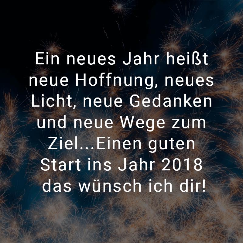Neujahr 2018 Sprüche