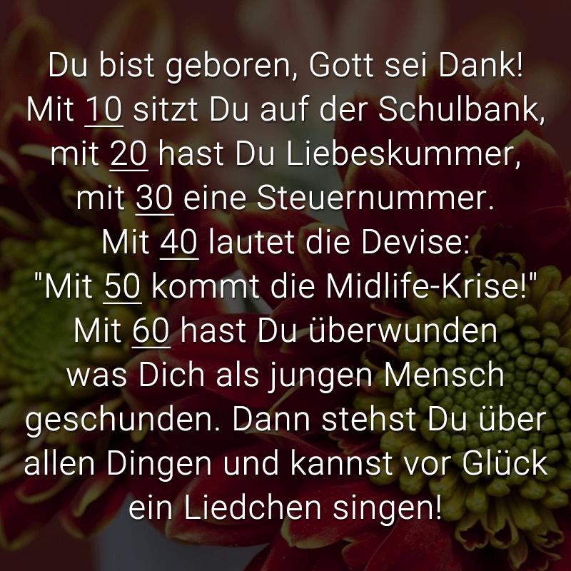 Sprüche Zum 60 Geburtstag Lustig