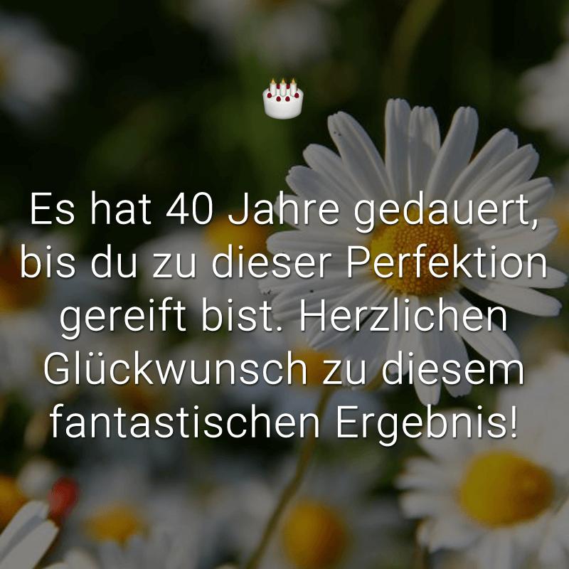 ᐅ Glückwünsche Zum 40 Geburtstag Beliebt Lustig Kreativ
