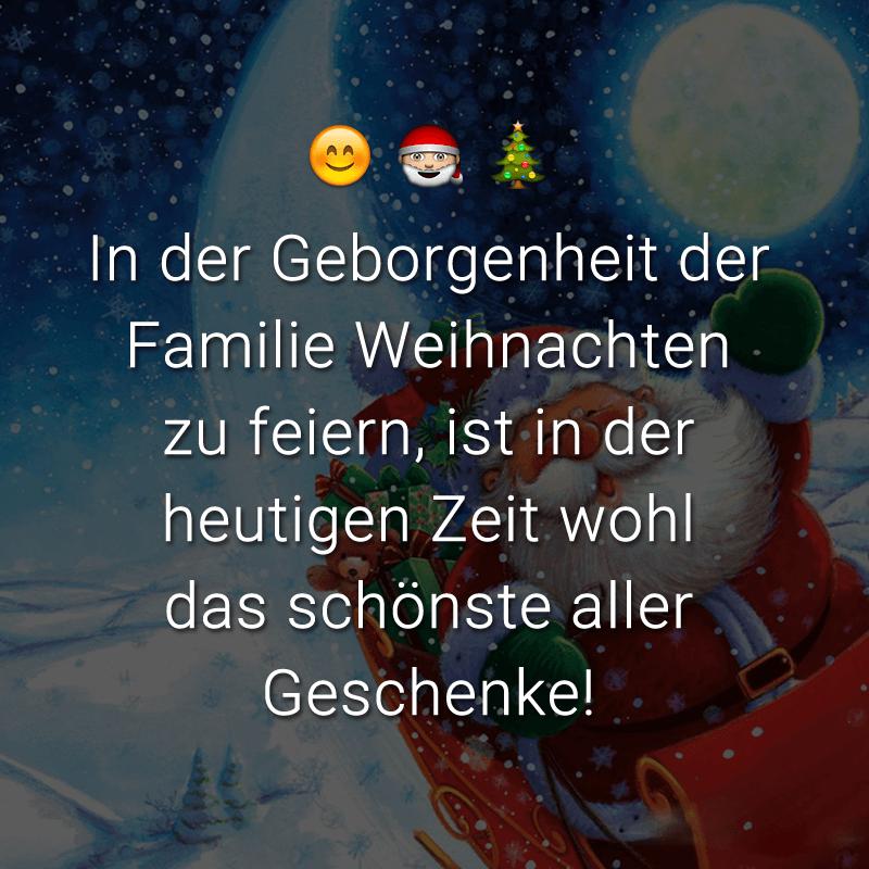 In der Geborgenheit der Familie Weihnachten zu feiern, ist in der heutigen Zeit wohl das schönste aller Geschenke!