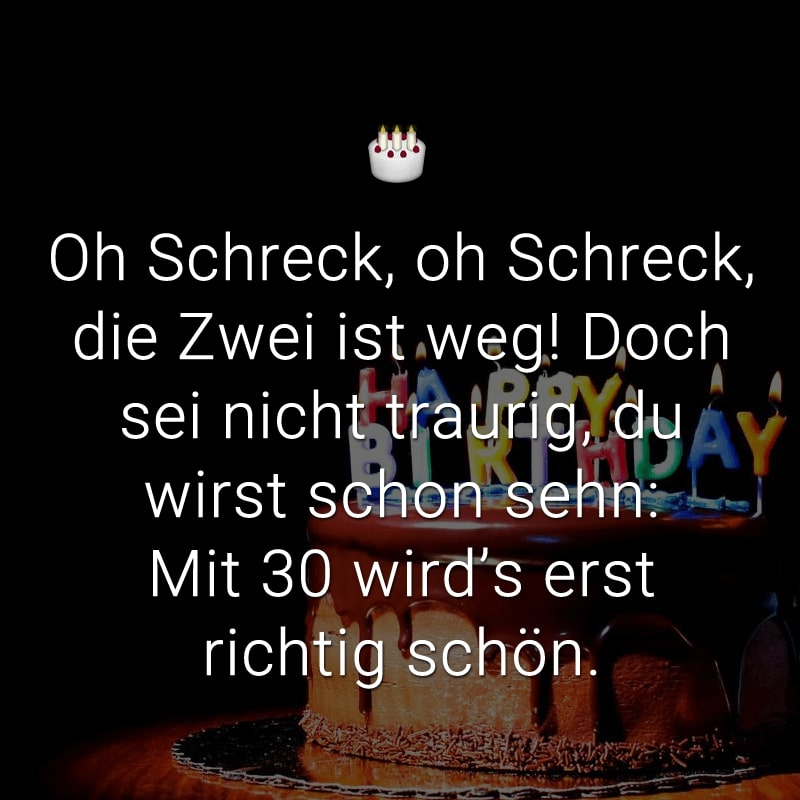 Geburtstagswunsche freundin 30