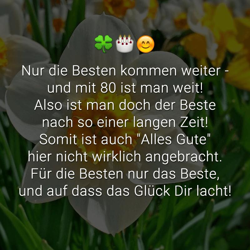 ᐅ Gluckwunsche Zum 80 Geburtstag Beliebt Lustig Kreativ