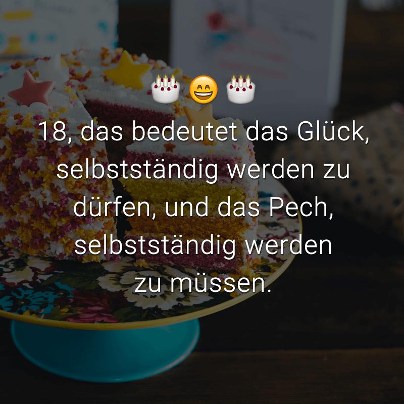ᐅ Glückwünsche zum 18. Geburtstag: Beliebt, lustig & kreativ